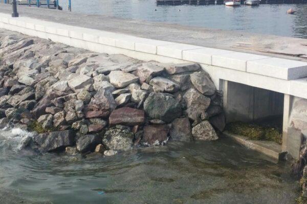 Lavori di riqualificazione del Porto di Pisogne Lago d'Iseo (BS)