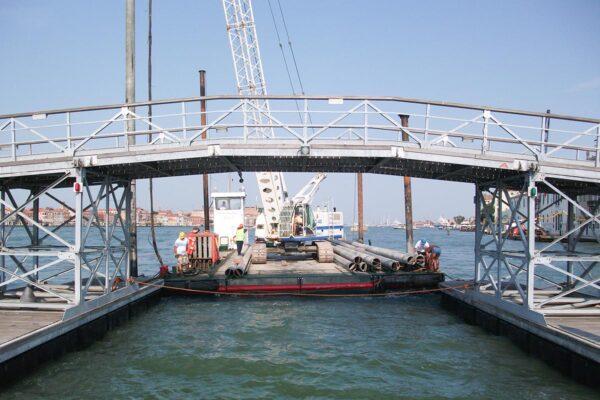 Ponte mobile festività Madonna della Salute