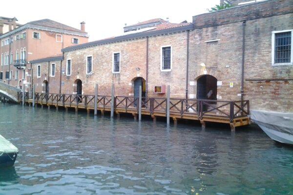 Pontile Ca' Foscari Venezia