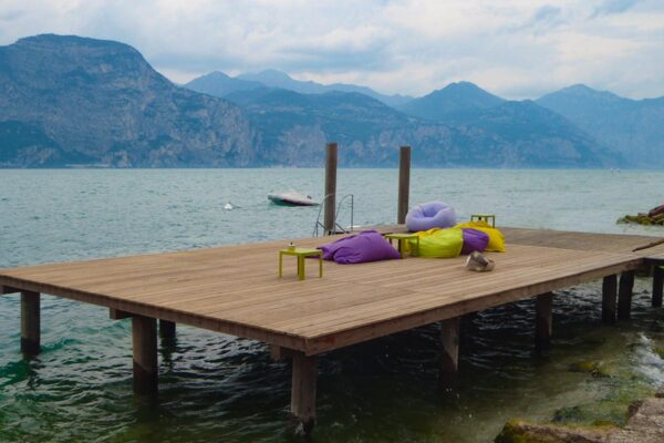 Pontile Camping Brenzone