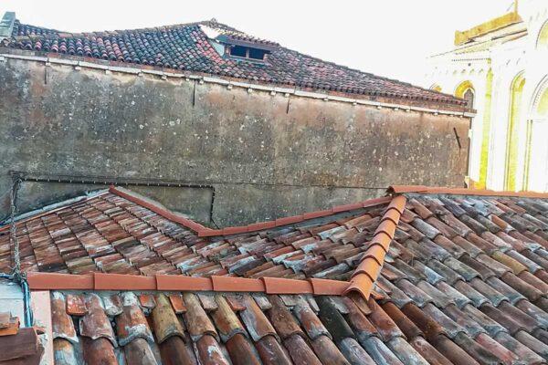 Restauro chiesa e cortile dei Derelitti Venezia