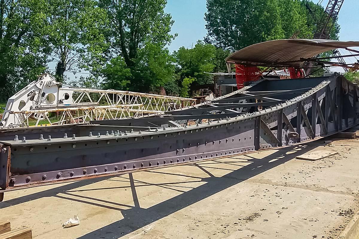 Restauro ponte girevole Venezia