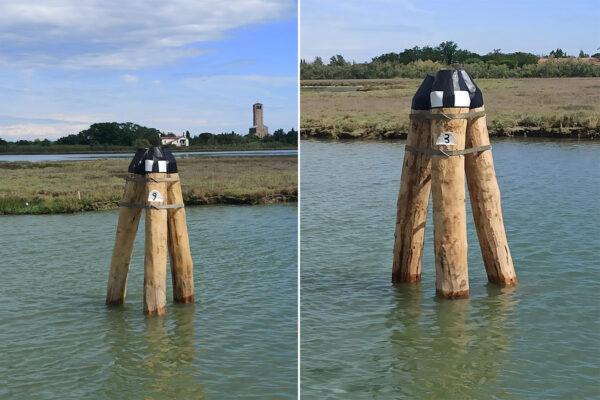 Briccole laguna Venezia