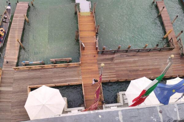 Pontili per gondole Venezia